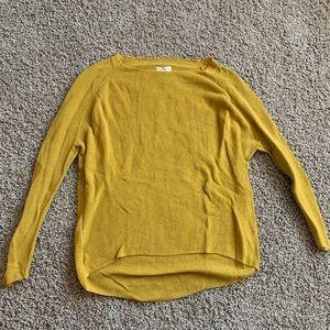 Lou & Grey Mustard Sweater